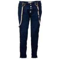штаны женские SLIM Gr 32 XS blau, Материал хлопок