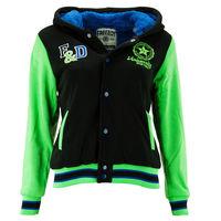 """Куртка """"Оксфорд"""" детская, цвет зеленый-черный, рост 104"""