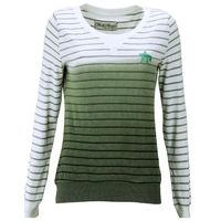 свитер женский Pulli Hoodie Gr 34 S weiß grün. Material:60% Polyester, 40% Baumwolle