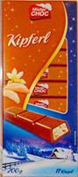 Шоколад Mister Choc Kipferl - молочный с кусочками ванильных круасанов 11 ригелей. 200гр. Германия