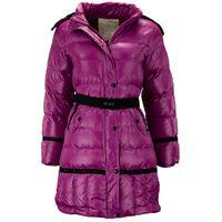 Детская зимняя куртка для девочки розового цвета, 152 рост