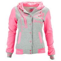"""Куртка женская """"Оксфорд"""", цвет розовая-серая размер 34/36 S/M"""