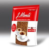 Кофе растворимый G. Monti 100% natural 200гр. 100порций Великобритания