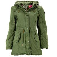 Куртка Parka Damen Jacke grün, 32 размер
