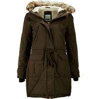 Куртка парка коричневая - Parka Gr 36 M braun