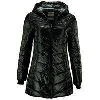 Женское стеганое куртка-пальто OUTDOOR размеры 36 S - черного цвета