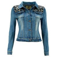 Женский джинсовый жакет Denim Damen размер 34 S blau