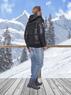Куртка зимняя мужская Nebulus HAWK, черная, с капюшоном, Оригинал, Германия