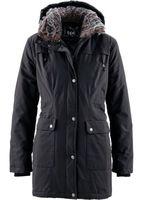 """Куртка женская Parka """"Schwarz"""" черная Gr. 34"""