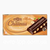 Шоколад Chateau Feinherb Nuss - Черный шоколад с цельными орехами, 200гр. Германия
