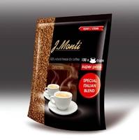"Кофе растворимый G.Monti ""Caffetteria"" 200гр. арабика 100%. Великобритания"