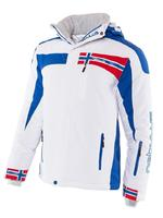 Куртка лыжная NEBULUS Skijacke FREESTYLE, Winterjacke, Herren, бело-синяя, Оригинал, Германия