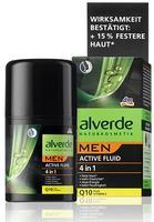 Alverde men Active Fluid 4in1 - Мужской активный флюид 4в1 50мл. (Германия)