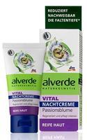 Alverde Vital Nachtcreme Passionsblume - ночной крем для лица для зрелой кожи.(+40-45лет) 50мл. (Германия)