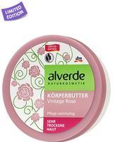 Alverde Korperbutter Honigmelone Alverde крем-масло для тела Роза для сухой кожи. 200мл. (Германия)