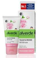 Alverde Tagescreme Wildrose - Дневной крем с дикой розой для сухой кожи. 50мл. (Германия)