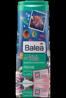 Balea dusche & shampoo for Kids Fische рыбки - Гель-душ + шампунь без слез (Германия) 300мл.