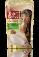Dein Bestes Exquisit: mit Wild & Huhn in Gelee - корм для собак - дичь и курица в желе. (Германия) 150гр.