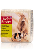 Dein Bestes Kleintier-Streu fur alle Nager - 15L - подстилка мелкая для всех грызунов. (Германия) 15л.
