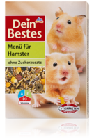 Dein Bestes Menu fur Hamster - меню для хомяков. (Германия) 400гр.