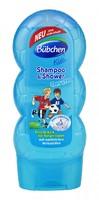 """Шампунь - гель для душа Bubchen Shampoo & Shower Kids """"Спорт"""" (синяя) НАСТОЯЩИЙ НЕМЕЦ!!! (Германия) 230 мл."""