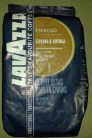 Lavazza Crema e Aroma Espresso blue - Кофе в зернах 1кг., Италия