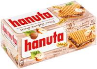 Hanuta - вафли с шоколадно ореховой начинкой от Ferrero 10шт. 220 гр. (Германия)
