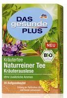 Das gesunde Plus Naturreiner Tee - чай (Германия)  20 пакетиков.