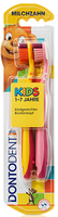 Dontodent Zahnburste Kids- две зубные щётки детские 1-7 лет. (Германия) 2 шт.