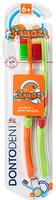 Dontodent Zahnburste Junior - две зубные щётки детские с 6+ лет. (Германия) 2 шт.