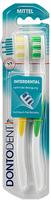 Dontodent Zahnburste Interdental Doppelpack - 2 зубных щётки интердентал - средняя.(Германия) 2 шт.