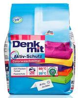 Denkmit Colorwaschmittel mit Aktiv-Schutz - стиральный порошок для цветного белья (Германия) 1,35 кг (20стирок)