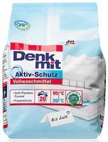 Denkmit Vollwaschmittel mit Aktiv-Schutz - стиральный порошок для белого белья (Германия) 1,35 кг (20стирок)