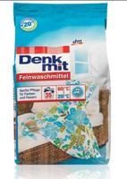 Denkmit Feinwaschmittel - стиральный порошок для деликатных тканей (Германия) 1,75 кг (35стирок)