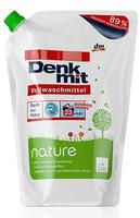 DenkMit Vollwaschmittel nature - Жидкий био-порошок для белого белья (Германия) 1,5л.(23 стирок)
