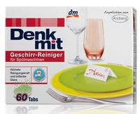 Denkmit Geeschirr-reiniger Tabs fur spulmaschinen - таблетки для посудомоечных машин (Германия) 60 табл.