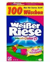 Weißer Riese Intensiv Color 5 Pulver, 100 WL для цветных вещей (Германия) Color 7 кг (100 стирок)