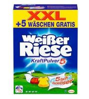 Weißer Riese Kraft Pulver, Waschmittel, 75 стирок универсальный (Германия)     универсальный 5.25кг (75 стирок)