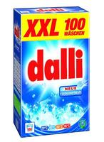 Dalli XXL - Универсальный стиральный порошок для любых видов стирки 100 стирок (Германия) универсал 7кг (100 стирок)