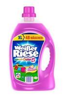 Weißer Riese Intensiv Color - гель для стирки цветных вещей (Германия) Color 3,5л (48 стирок)