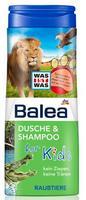 Balea dusche & shampoo for Kids Raubtiere хищники - Гель-душ + шампунь без слез (Германия) 300мл.