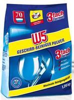 W5 Geschirr Reiniger Pulver порошок для посудомоечных машин (Германия) 1.26 кг.