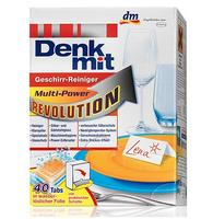 Denkmit Geeschirr-reiniger Tabs fur spulmaschinen Multi-Power Revolution- таблетки для посудомоечных машин (Германия) 40 табл.