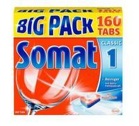 Somat Geschirrspültabs BIG Pack 160 - таблетки для посудомоечных машин 1 multi (Германия)    160 таб. 2.7кг