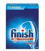 CALGONIT finish Geschirrspül-Tabs CLASSIC POWERBALL 72 - таблетки для посудомоечных машин (Германия) 72 таб. 1.342кг