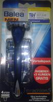 Balea men precision5 - Станок с четырьмя лезвиями в наборе (Германия)