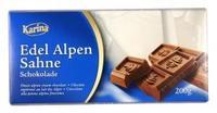 Шоколад Karina Edel Alpen Sahne - шоколад Альпийский Крем, 200гр. Германия