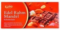 Шоколад Karina Rahm Mandel - молочный шоколад с миндалем, 200гр. Германия
