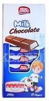 Молочный детский шоколад Mister Choc с молоком 11 ригелей, 200гр. Германия