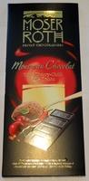 Moser Roth - Экстра черный шоколад с нежным муссом и фруктовой прослойкой вишни и перца чили (какао-85%), 187.5 гр. Германия